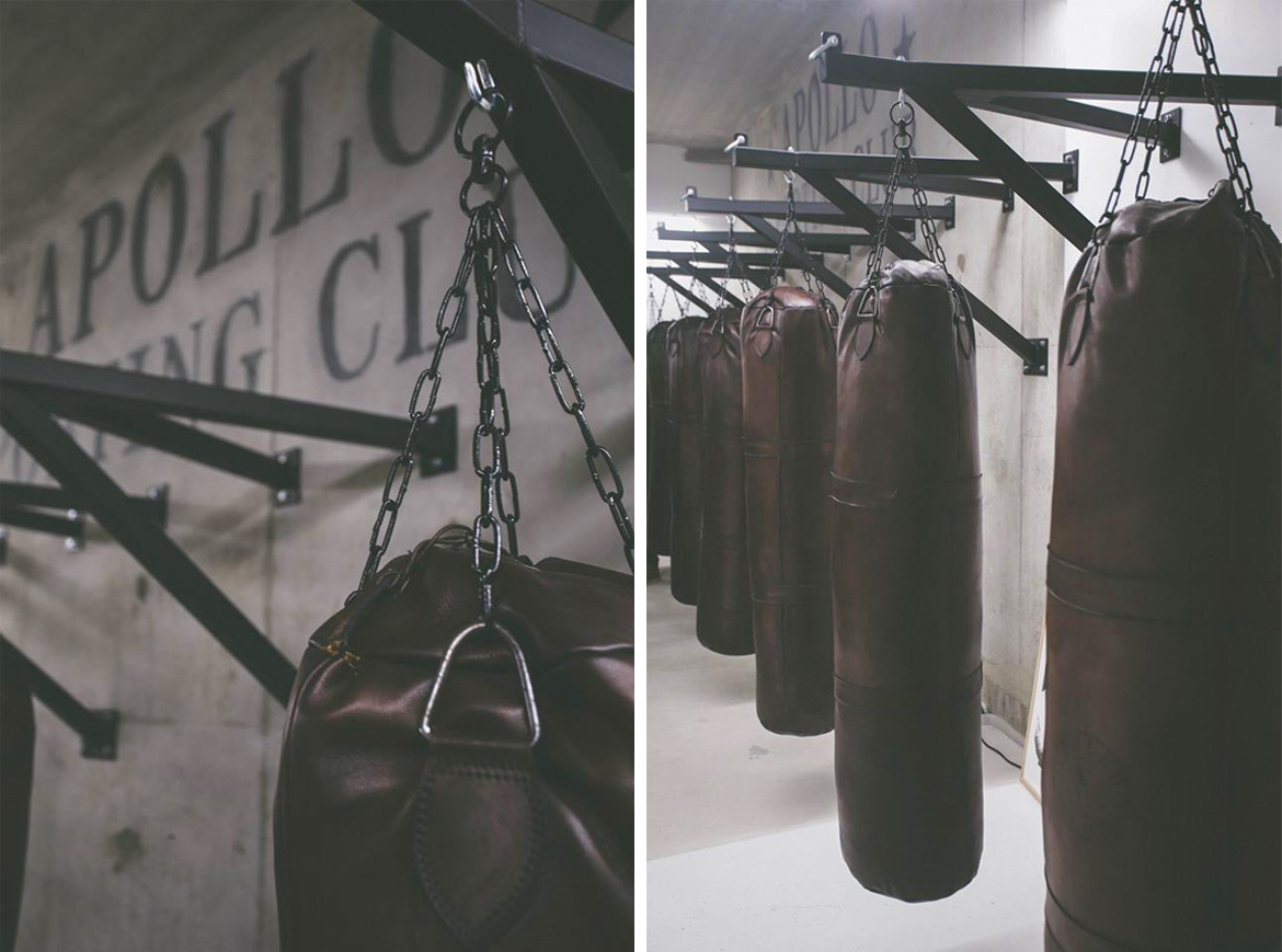 John Woodbridge 1.50m leather punching bag