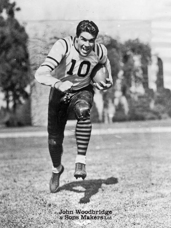 Joueur de football américain Jack Manders des Chicago Bears