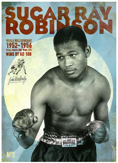 Poster Sugar Ray Robinson