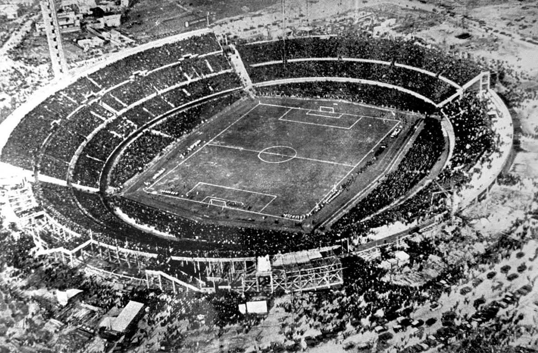 Stade Centenario de Montevideo lors de la Coupe du monde 1930 en uruguay