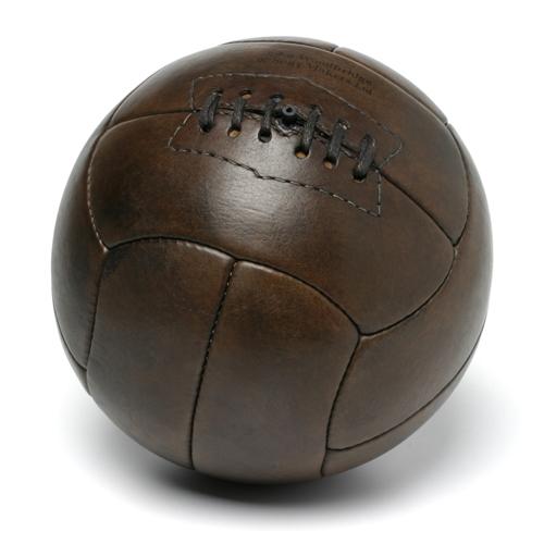 Ballon de football Tiento 1930 vintage en cuir