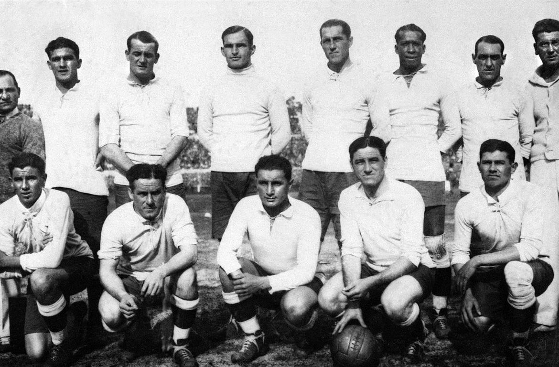 L'équipe de football d'Uruguay en 1930