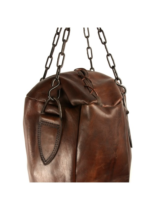 1920s VINTAGE LEATHER PUNCHING BAG