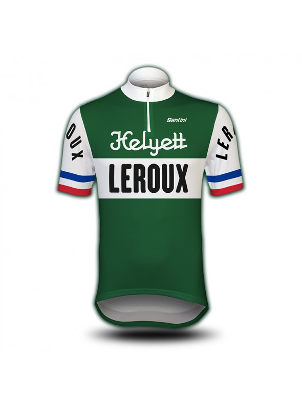 Maillot de cyclisme vintage Helyett-Leroux
