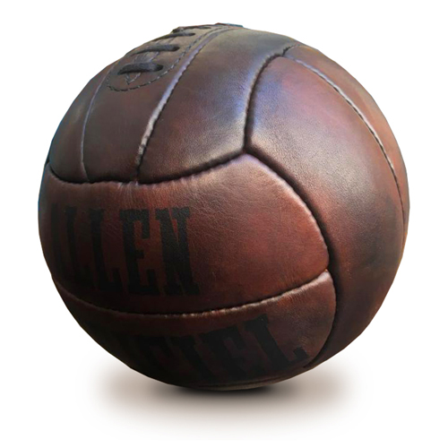 allen 1938 world cup leather football vintage