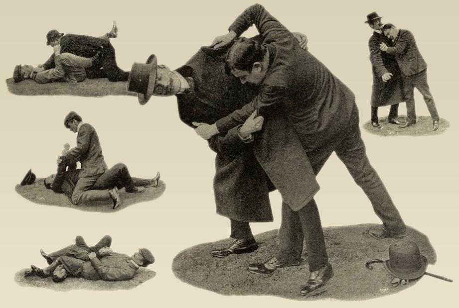 art de la parade, self-defense vintage
