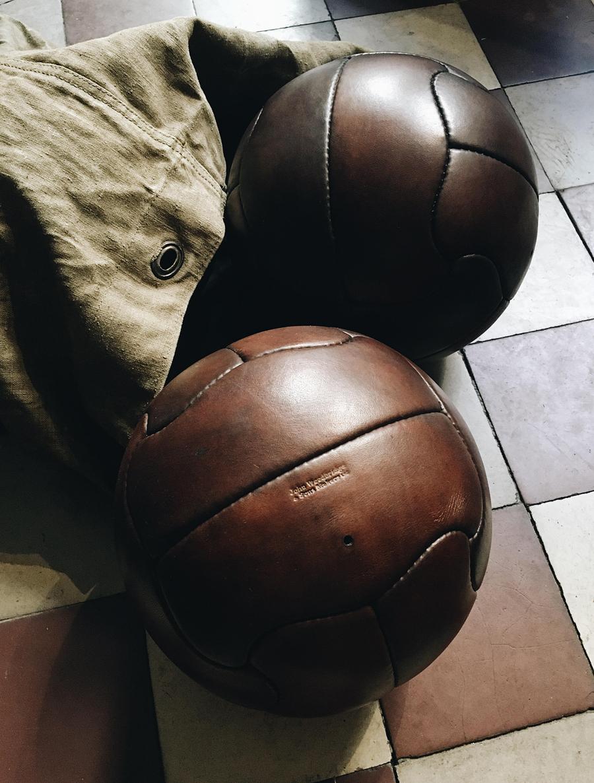 ballon de football brésil 1950 superball duplo-t john woodbridge