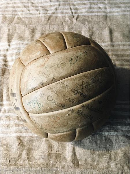 ballon de football allen coupe du monde 1938