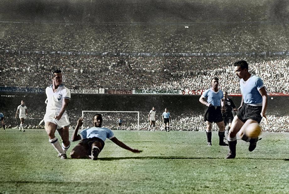 brésil uruguay maracanazo 1950