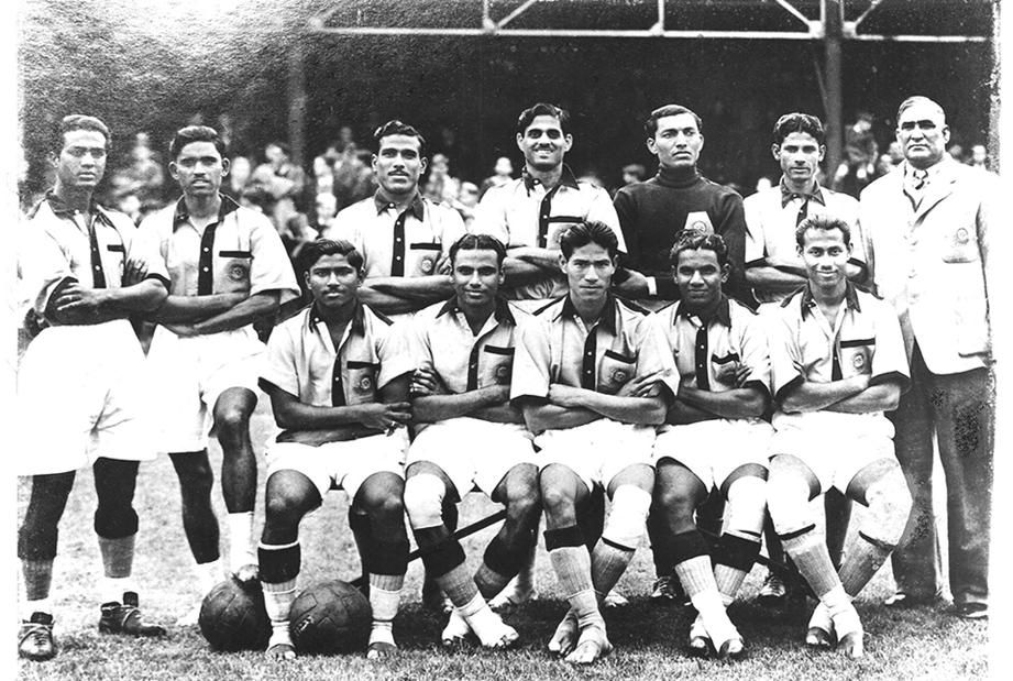 équipe de football de l'inde 1948 aux jeux olympiques