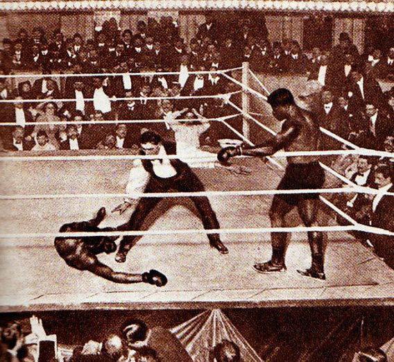 boxing fight joe jeannette sam mcvey 1909