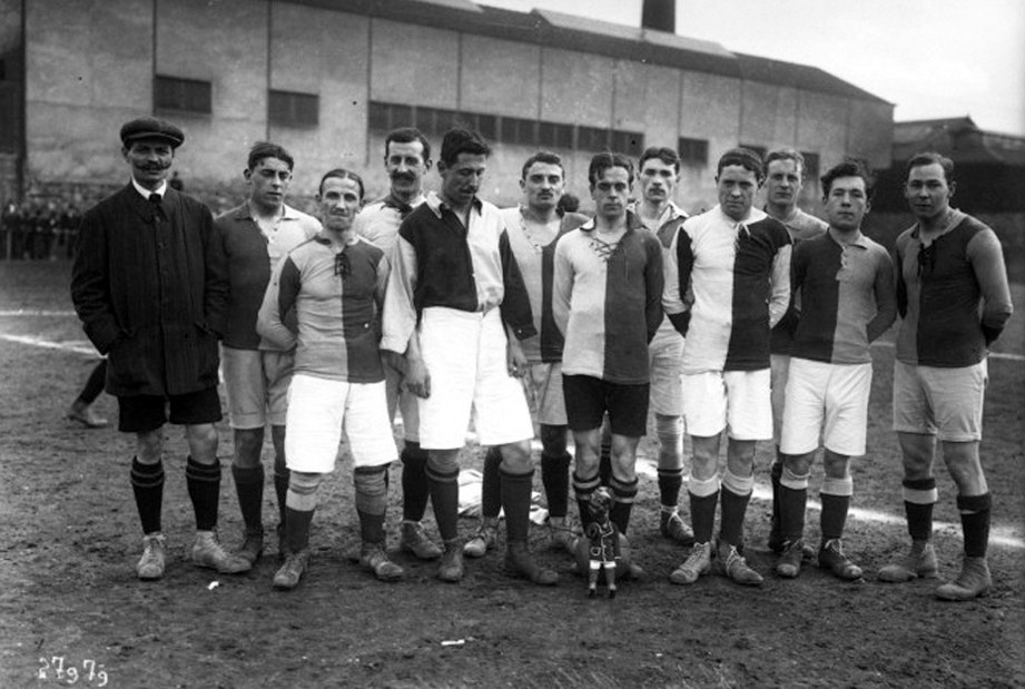 Le Havre Athletic Club football in 1913