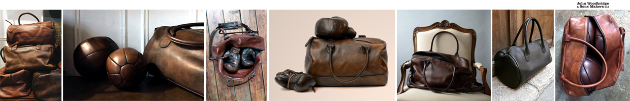 leather sports and traven bags