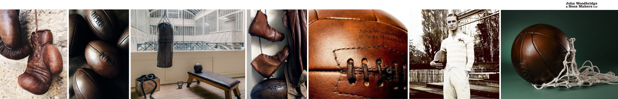 leather vintage sports goods