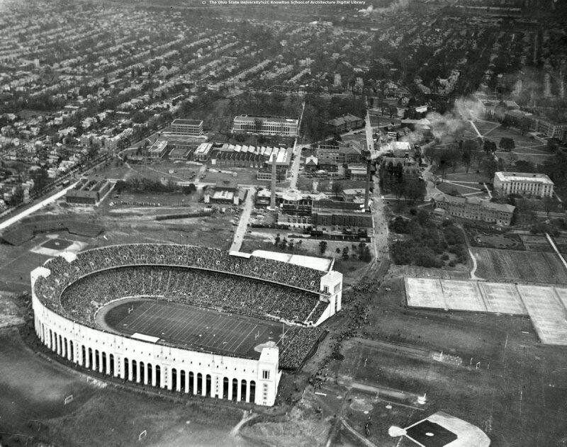 ohio state stadium années 1930