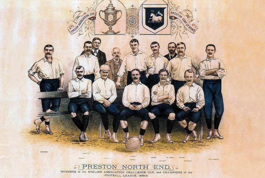 preston north end 1889-1890 invincibles