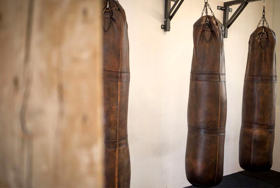 sacs de frappe pieds john woodbridge à la mongolfière paris