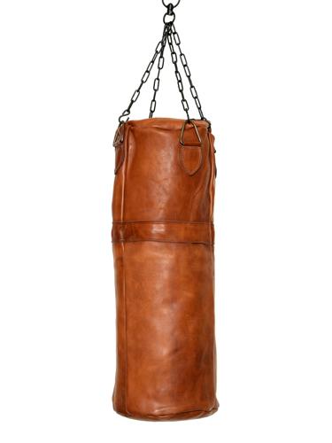 sac de frappe de boxe cognac