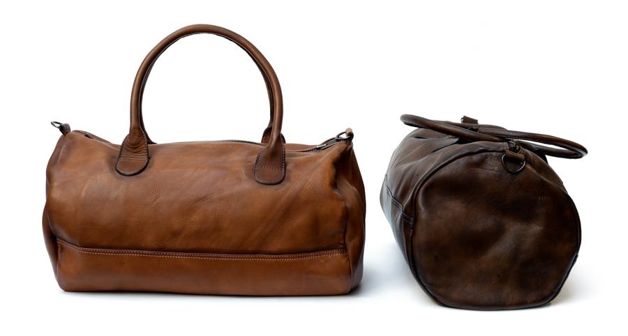 sac de sport en cuir gym bag