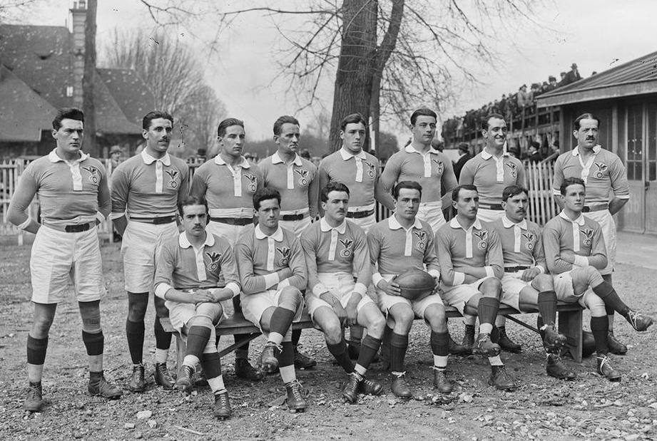 xv de france rugby 1920