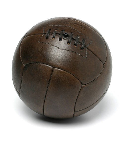 1930s vintage leather football tiento