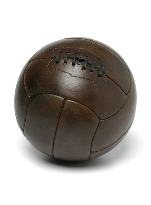 1930 TIENTO VINTAGE LEATHER FOOTBALL BALL