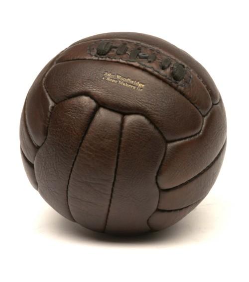 Ballon de football vintage années 1950