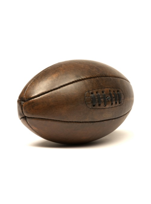 1920s vintage leather rugby ball