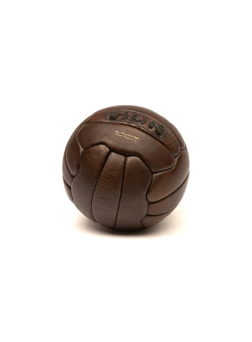 MINIATURE VINTAGE LEATHER FOOTBALL