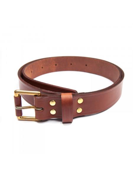 simple leather belt