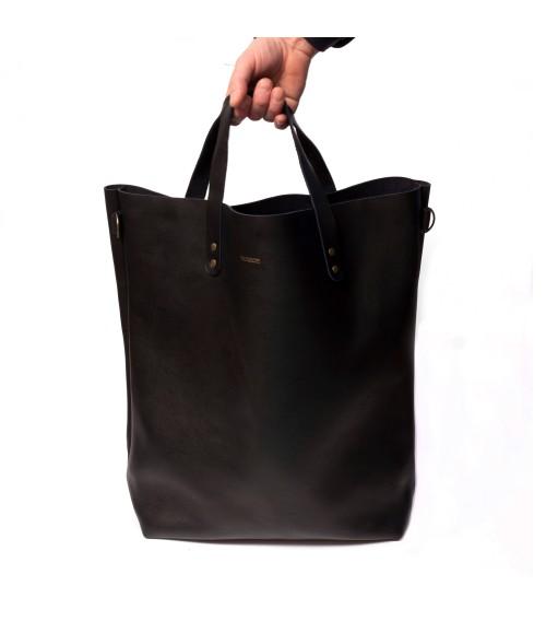 Sac Tote Bag en cuir vintage