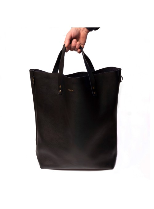 Sac Tote Bag vintage en cuir grand