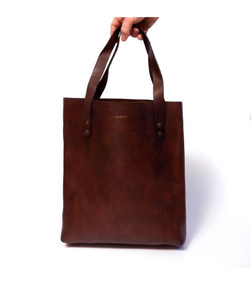 Sac Tote Bag vintage en cuir petit