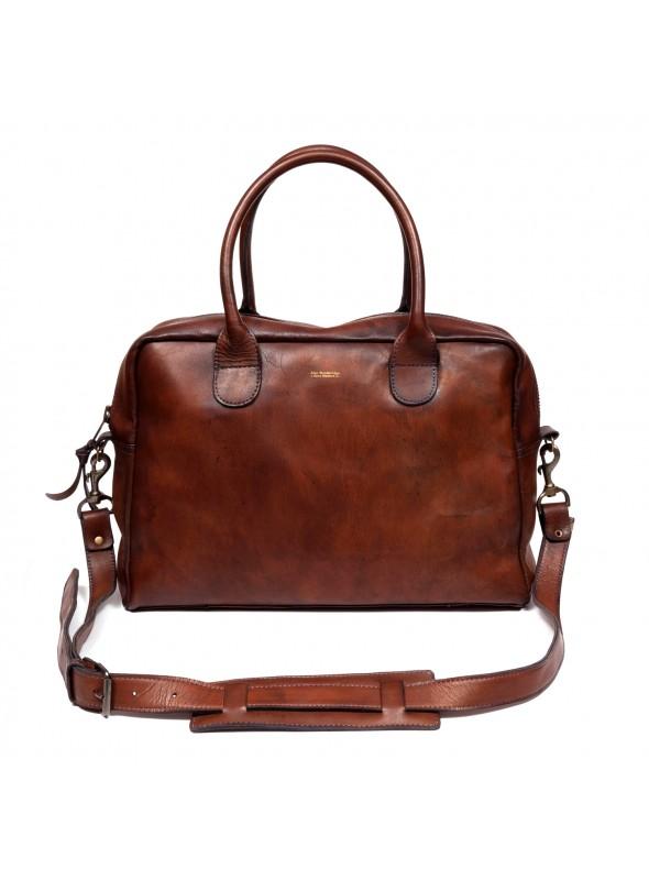 Sac Computer Bag vintage en cuir