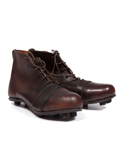 1930s VINTAGE LEATHER CLEATS SHOES