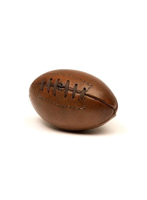 Mini ballon de rugby vintage