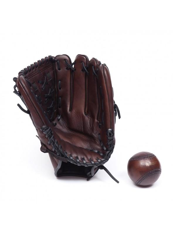 Gant de baseball vintage en cuir