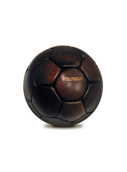 1950s VINTAGE LEATHER HANDBALL BALL