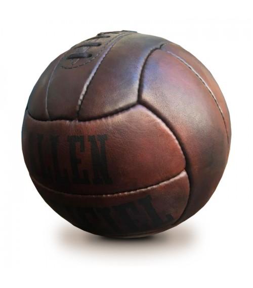 Ballon de football en cuir Allen 1938 vintage