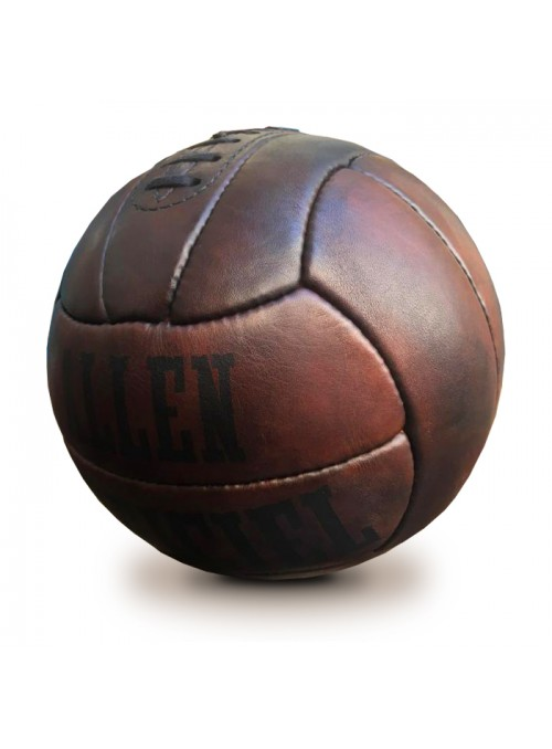 1938 ALLEN VINTAGE LEATHER FOOTBALL BALL