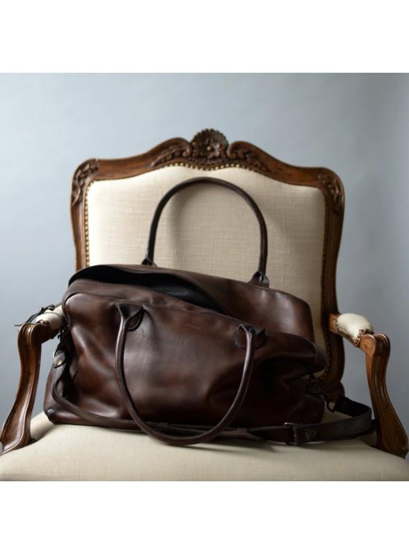 leather sports bag weekend bag