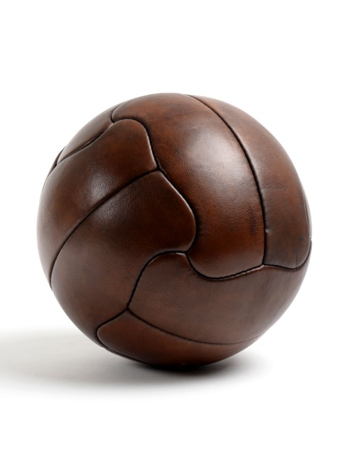 1950 Duplo T vintage leather football