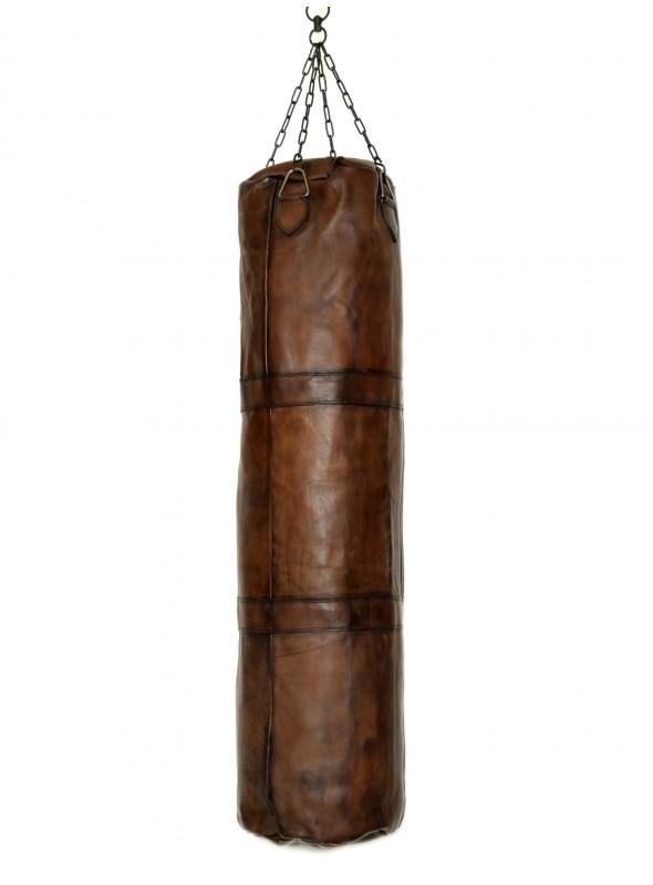 vintage leather boxing 1m50 punching bag