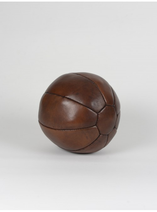 VINTAGE LEATHER MEDICINE BALL 4.4LB