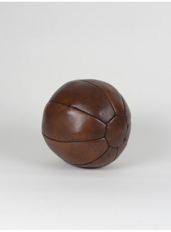 vintage leather 2kg medicine ball