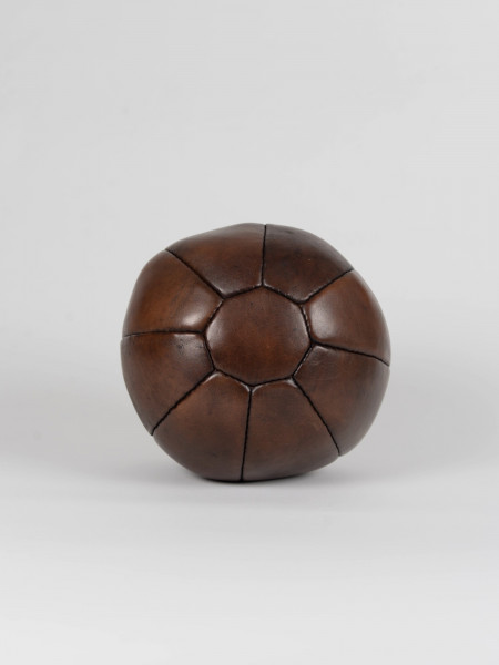 vintage leather 2kg medicine ball