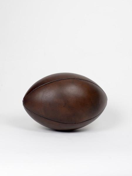 ballon de football américain vintage en cuir