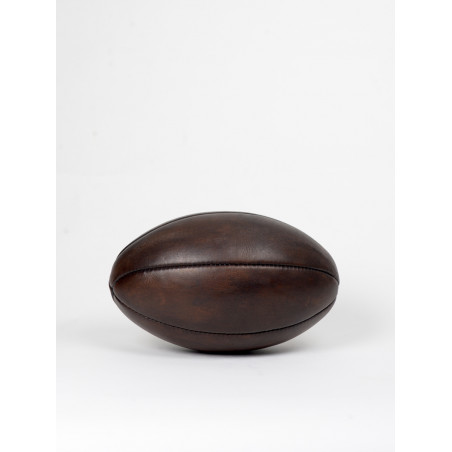 leather vintage rugbyball 1920s