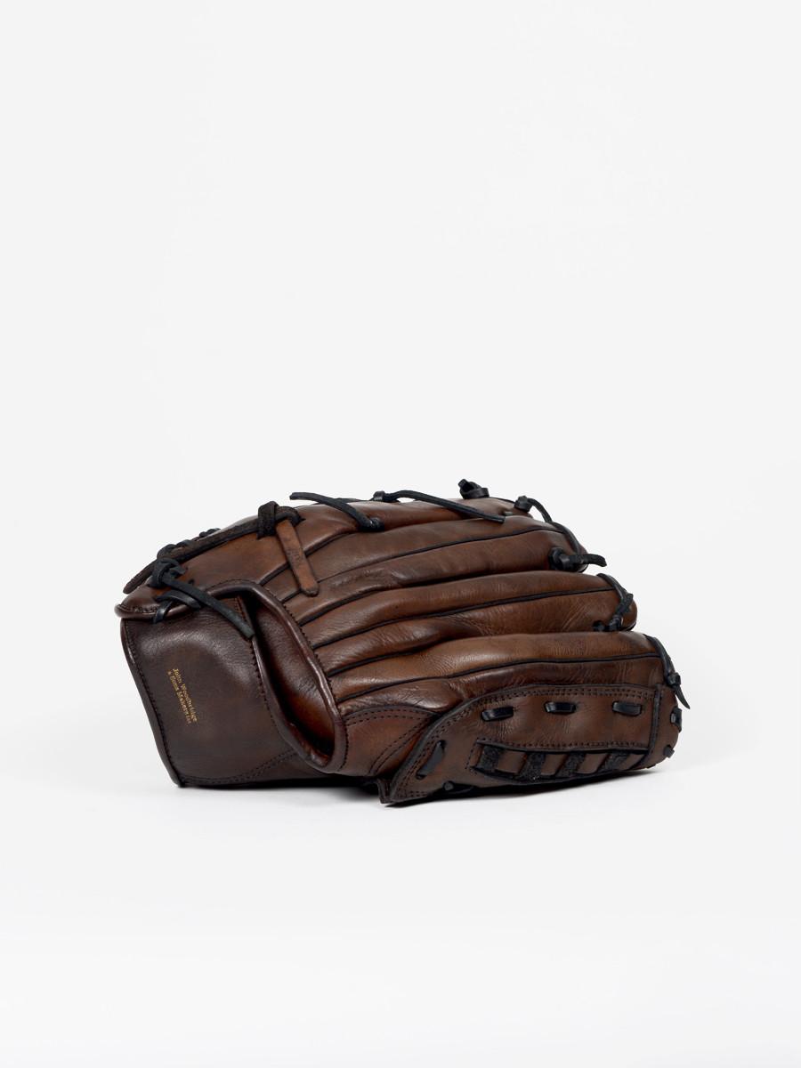 vintage leather baseball glove