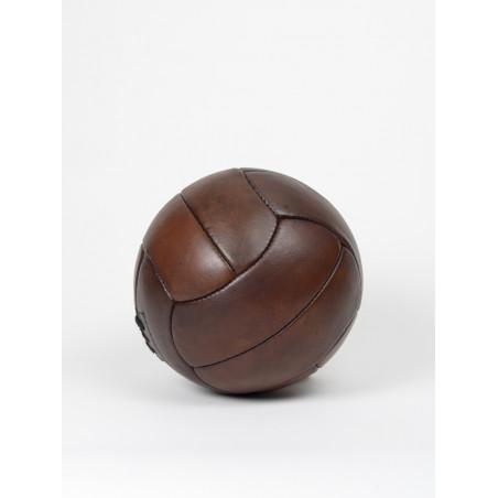 ballon de football vintage en cuir tiento 1930